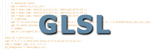 GLSL, OpenGL shading language