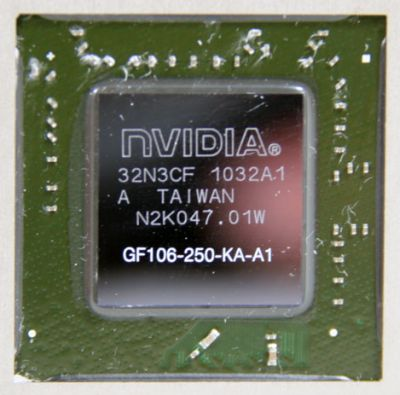NVIDIA GeForce GTS 450 - GF106 GPU