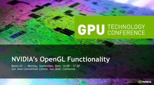 GTC 2010: NVIDIA's OpenGL Functionality by Mark Kilgard