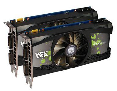GTX 460 SLI Pack by KFA2
