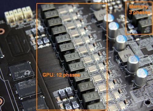 MSI GTX 480 Lightning - VRM