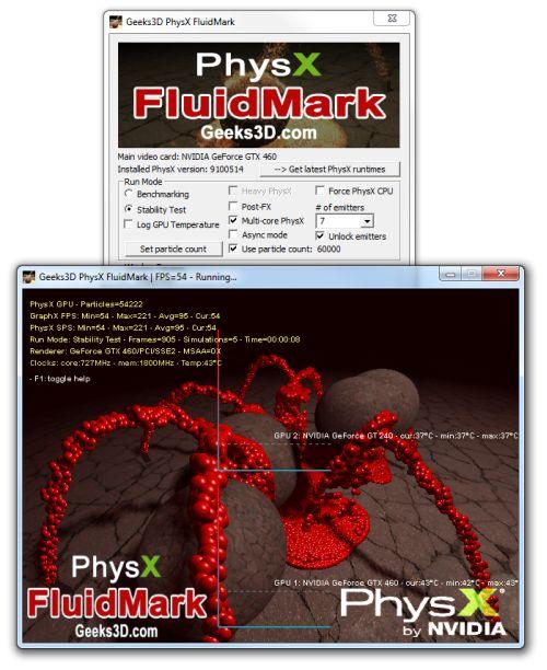 PhysX FluidMark 1.2.2