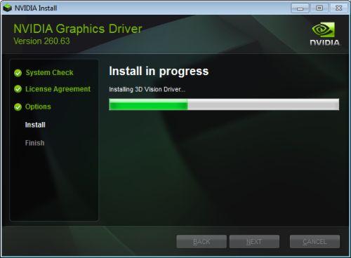 NVIDIA R260.63 graphics driver