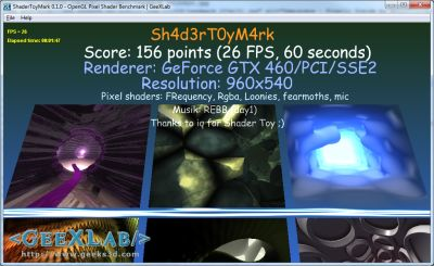 ShaderToyMark score