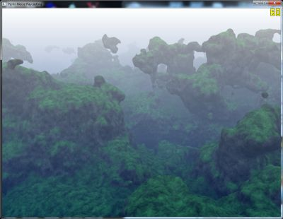 Terrain Rendering With Perlin Noise, SSAO and SSDM