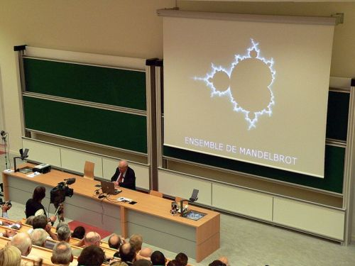Benoît Mandelbrot talking about fractals
