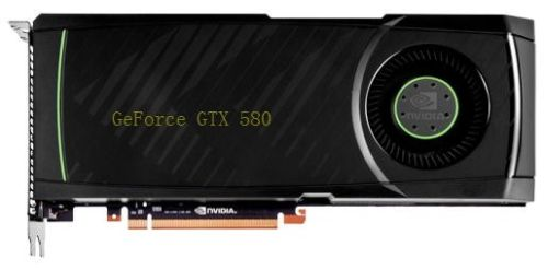 GeForce GTX 580 board