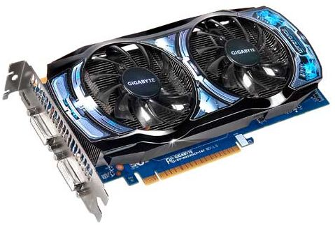 GIGABYTE GeForce GTS 450 GV-N450OC2-1GI