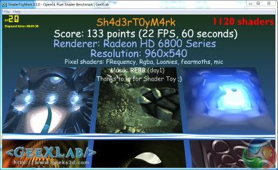Radeon HD 6850 + ShaderToyMark