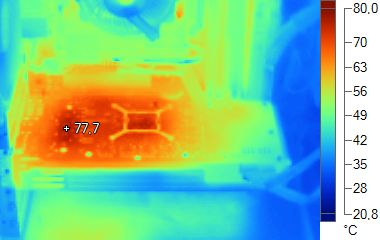 Radeon HD 6870 - Thermal imaging