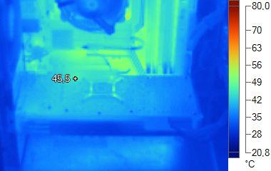 Radeon HD 6870 - Thermal imaging