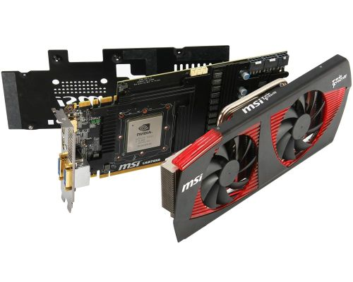MSI N480GTX Lightning