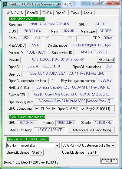 NVIDIA R260.89 graphics driver