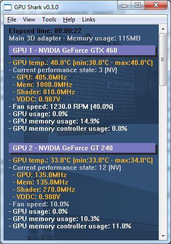 GPUShark + R260.93 = OK