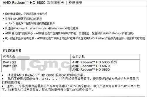 Radeon HD 6800 seriesm Bart GPU
