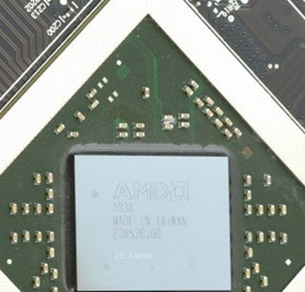 Radeon HD 6870 GPU
