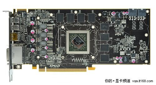 Radeon HD 6870 PCB