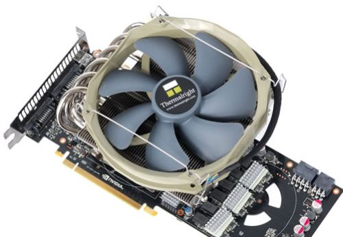 Thermalright Shaman VGA Cooler, GeForce GTX 480