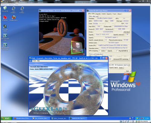 VirtualBox 3.2.10, GeeXLab and GPU Caps Viewer