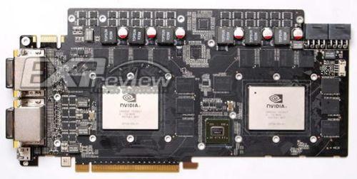 GeForce GTX 460 Dual-GPU PCB (GTX 495)