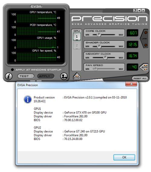 EVGA Precision 2.0.1