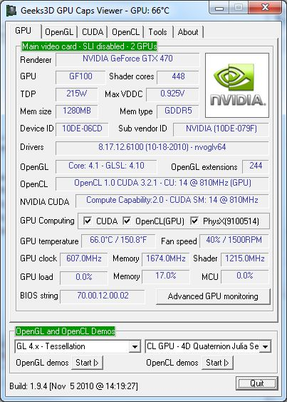 Portable GPU Caps Viewer 1.45.1.0 full