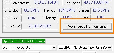 GPU Shark from GPU Caps Viewer