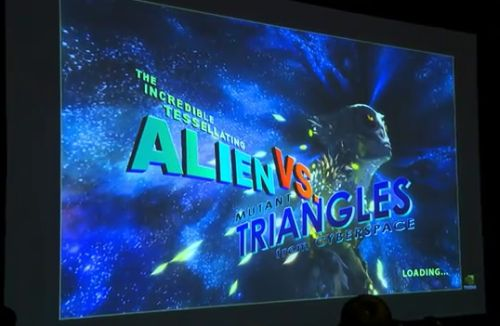 NVIDIA GTX 580 tech demo: Alien vs Triangles