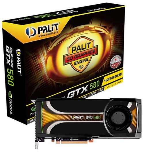 Palit GeForce GTX 580