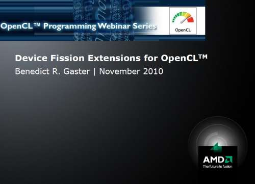 AMD OpenCL whitepa