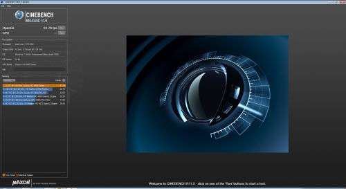 Maxon CINEBENCH R11.5
