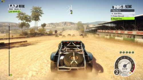 DiRT2 DX11 benchmark