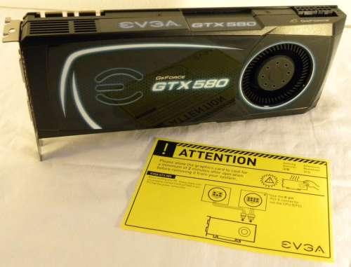EVGA GTX 580 SC 1536MB GDDR5 Review