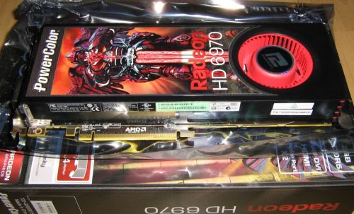 Radeon HD 6970 unboxed