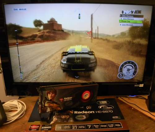 SAPPHIRE Radeon HD 6870 1024MB GDDR5 - DiRT2
