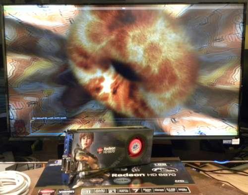 SAPPHIRE Radeon HD 6870, FurMark 1.9.0