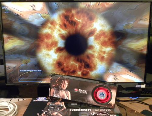 SAPPHIRE Radeon HD 6970, FurMark 1.9.0