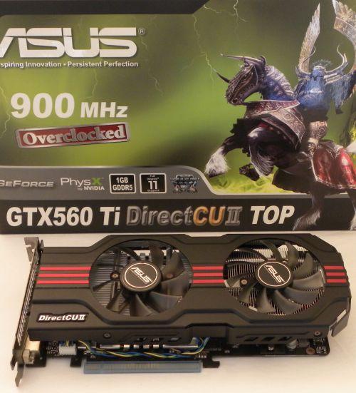 ASUS GTX 560 Ti DCII TOP