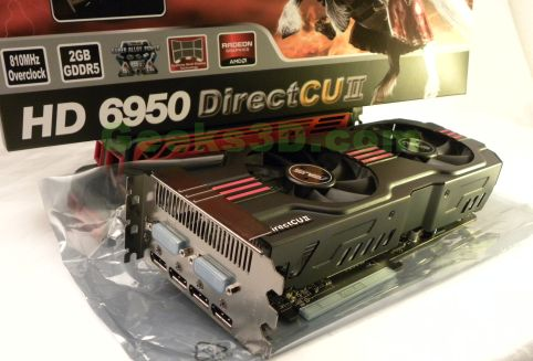 ASUS HD 6950 DirectCU II