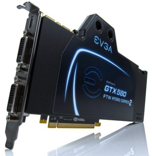 EVGA GTX 580 FTW Hydro Copper 2