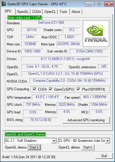 GPU Caps Viewer 1.9.6