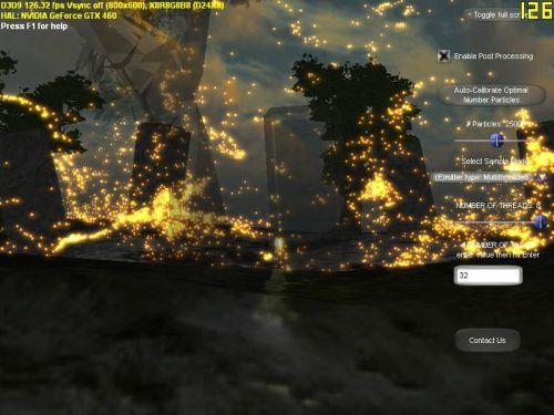 Intel DX9 Fireflies demo