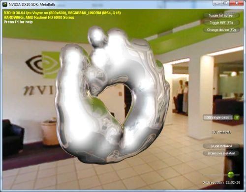 NVIDIA Direct3D SDK 10.6 demo