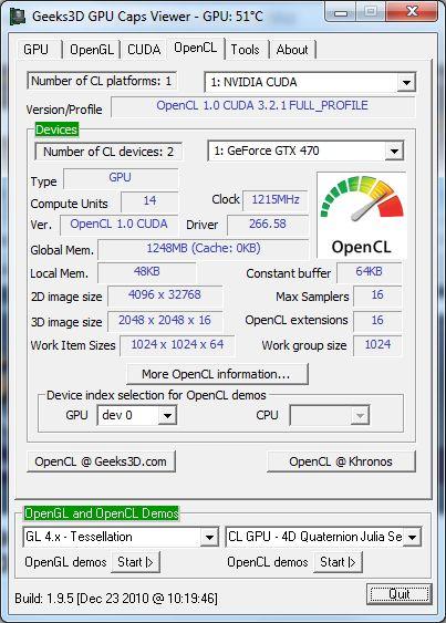 NVIDIA R266.58 - OpenCL