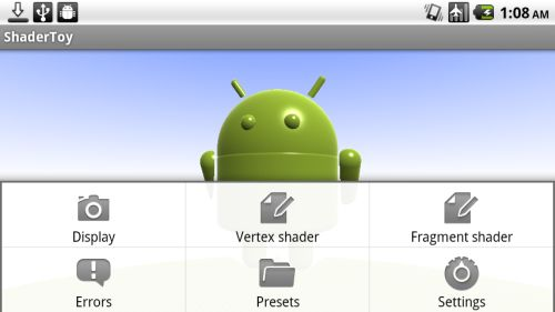 ShaderToy for Android