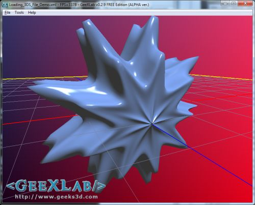 SuperShaper, export to GeeXLab