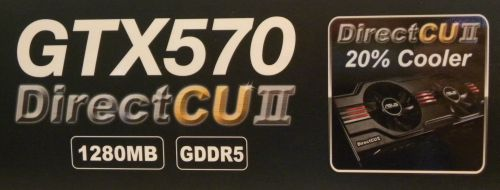 ASUS GeForce GTX 570 DirectCU II
