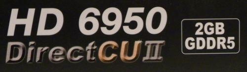 ASUS Radeon HD 6950 DirectCU II