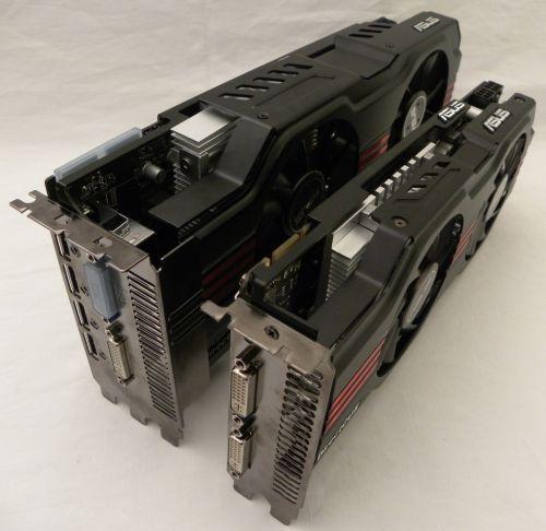 ASUS Radeon HD 6950 DirectCU II, heatpipes