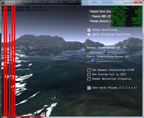 dxProf 1.0.8 Direct3D Profiler